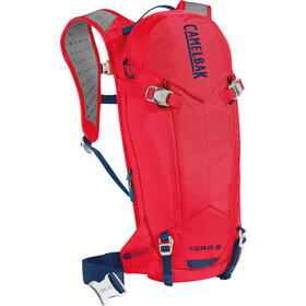 CamelBak T.O.R.O. Protector 8 Harnais d'hydratation, dry racing red/pitch blue